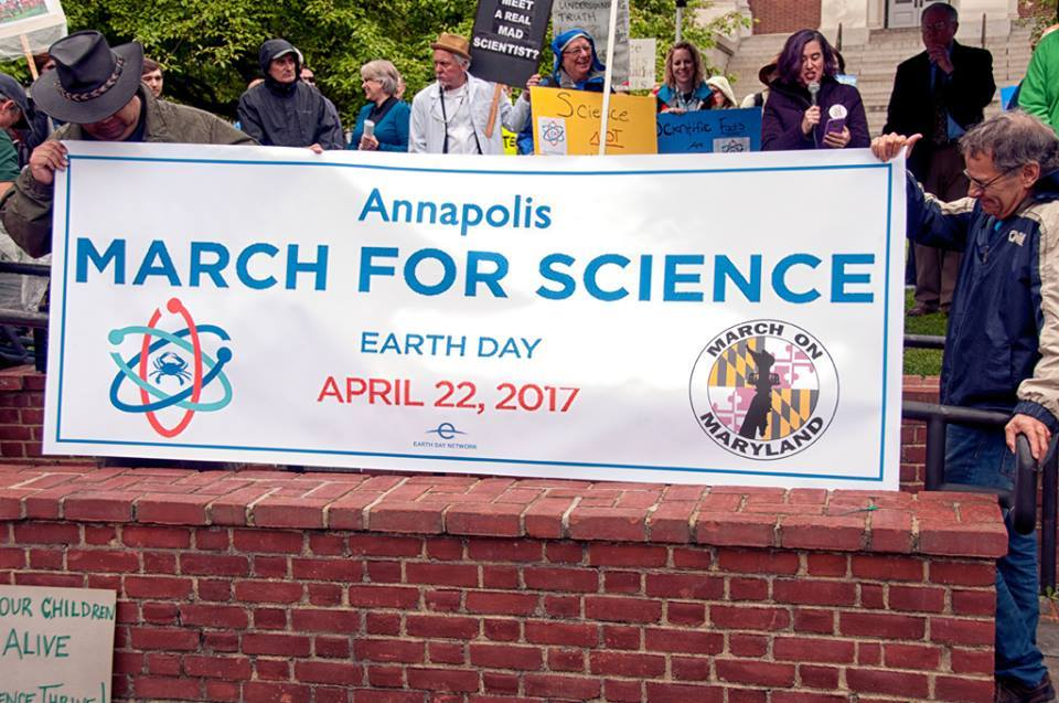 Banner - Annapolis March for Science