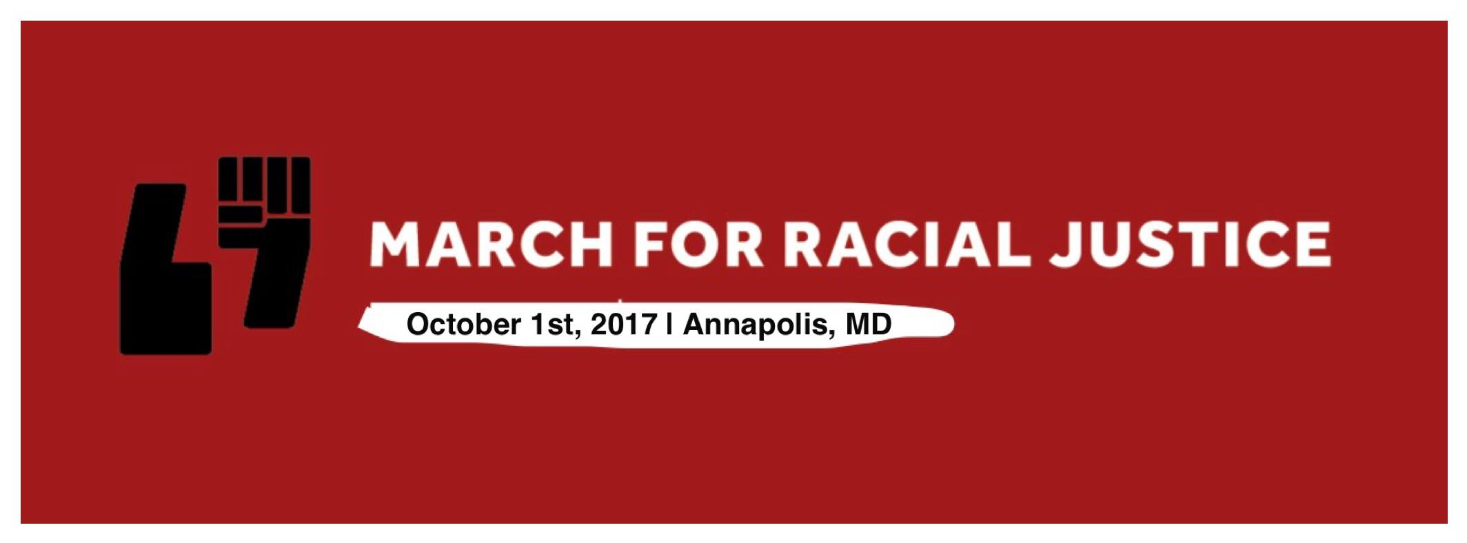 March for Racial Justice in Annapolis